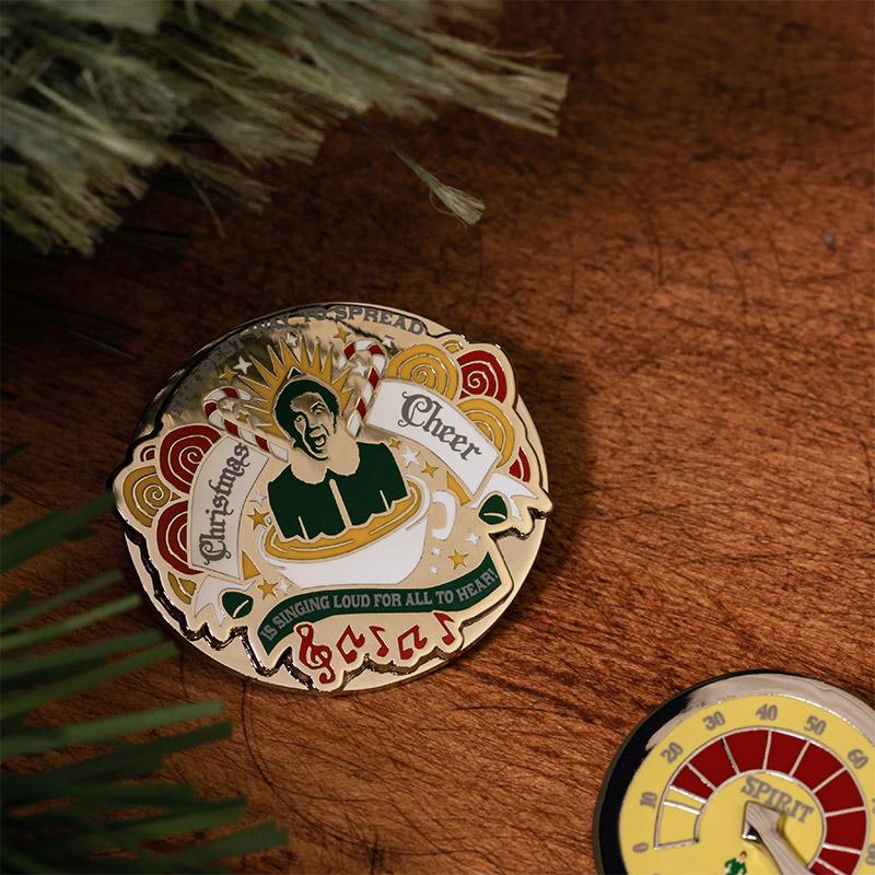 Pin Kings Elf Enamel Pin Badge Set 1.2