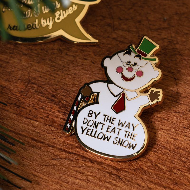 Pin Kings Elf Enamel Pin Badge Set 1.3