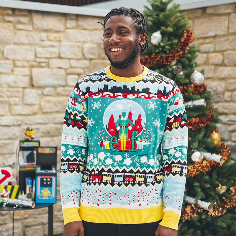 Official Elf Christmas Jumper / Ugly Sweater