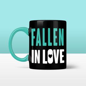 Official Destiny Fallen Baby 'Fallen in Love' Black Mug
