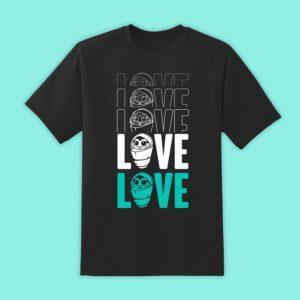 Official Destiny Fallen Baby 'Love' Black T-Shirt