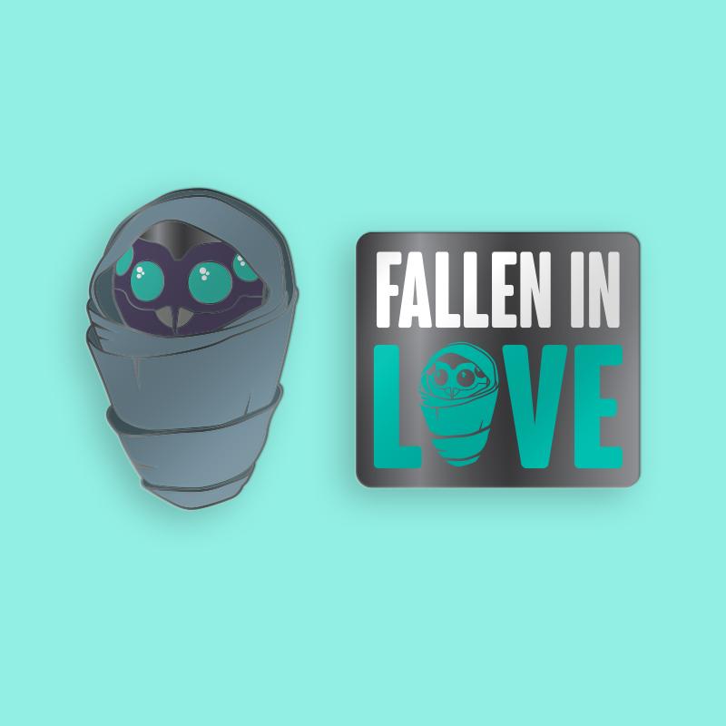 Pin Kings Destiny Enamel Pin Badge Set 1.1 – Fallen In Love