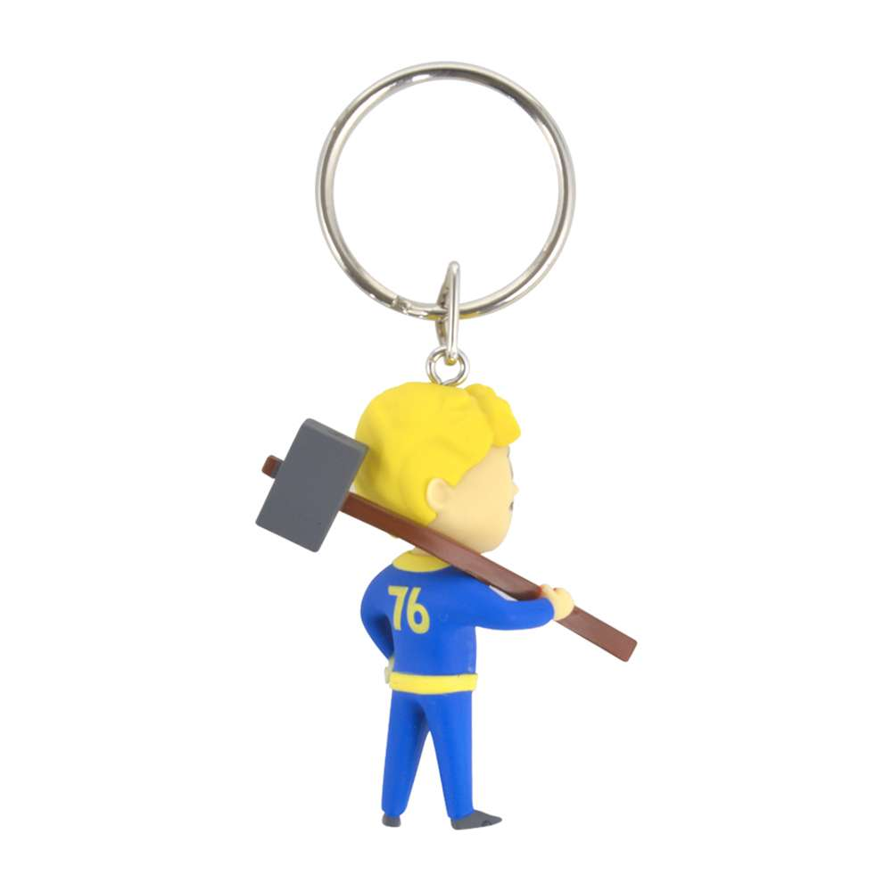 Official Fallout 76 Vault Boy Melee Keyring / Keychain