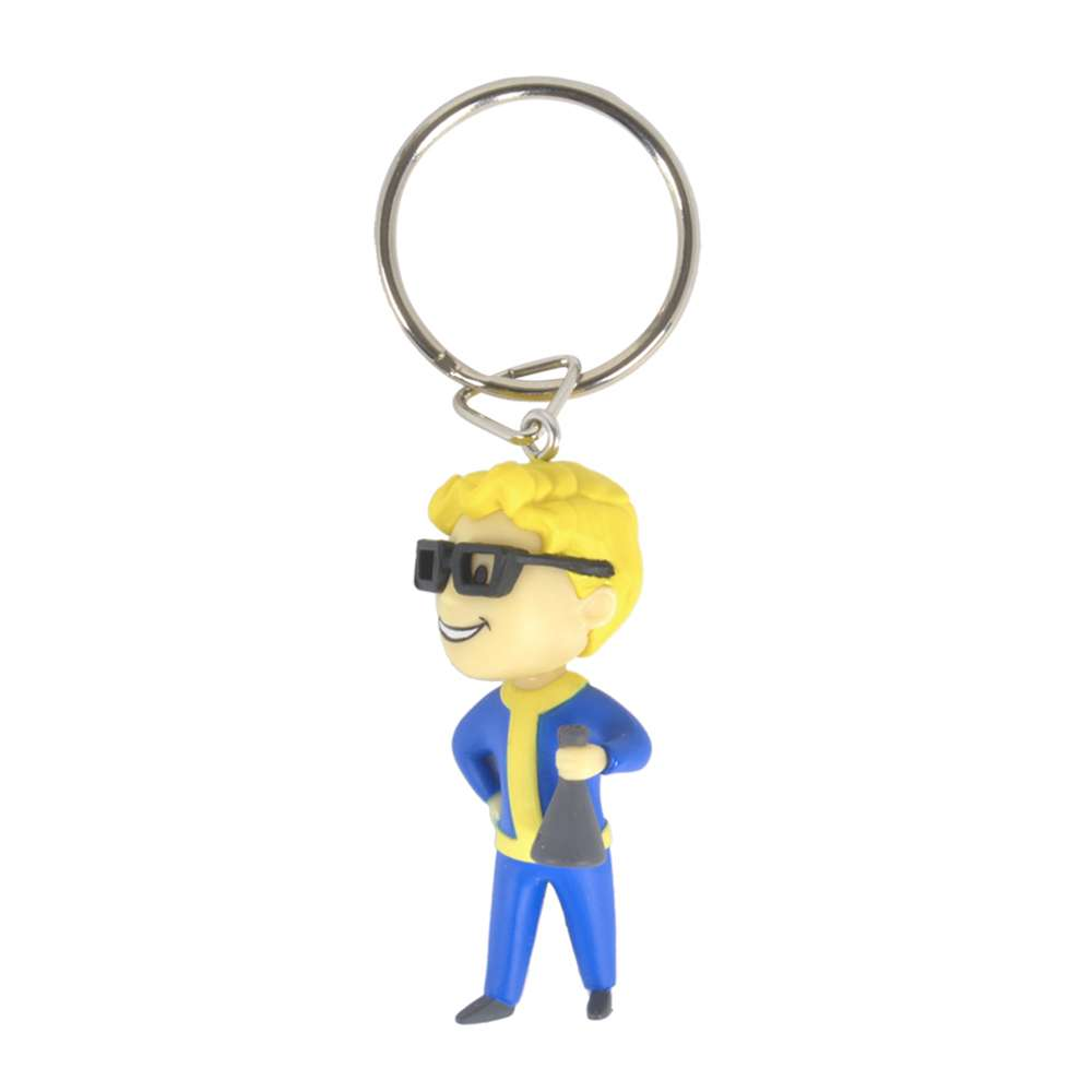 Official Fallout 76 Vault Boy Science Keyring / Keychain