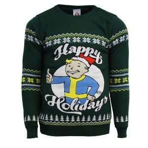 Fallout Happy Holidays Jumper / Ugly Sweater