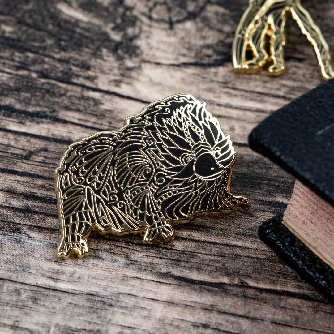 Pin Kings Harry Potter Fantastic Beasts Enamel Pin Badge Set 1.2 – Baby Niffler & Bowtruckle