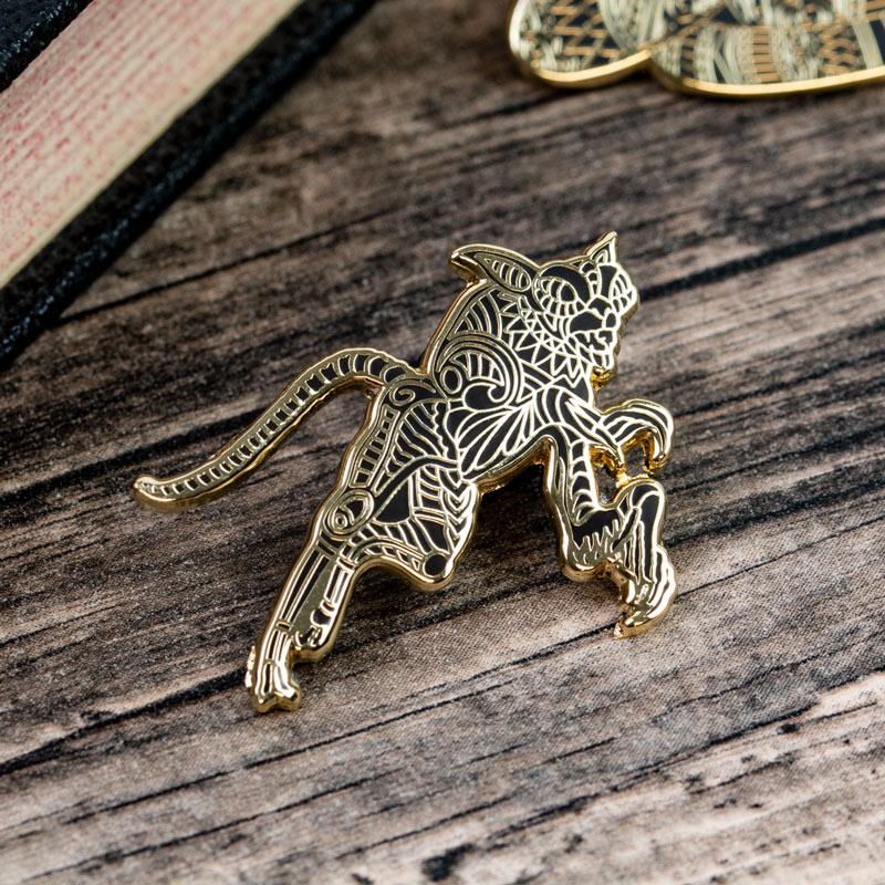 Pin Kings Harry Potter Fantastic Beasts Enamel Pin Badge Set 1.3 – Matagot & Nagini