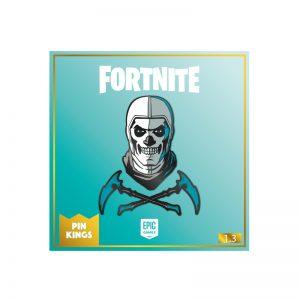 Pin Kings Fortnite Enamel Pin Badge Set 1.3 – Skull Trooper