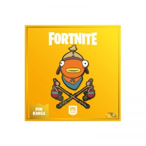 Pin Kings Fortnite Enamel Pin Badge Set 1.4 – Fishsticks