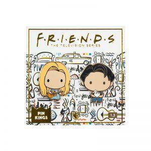 Pin Kings Friends Enamel Pin Badge Set 1.3 – Phoebe & Joey