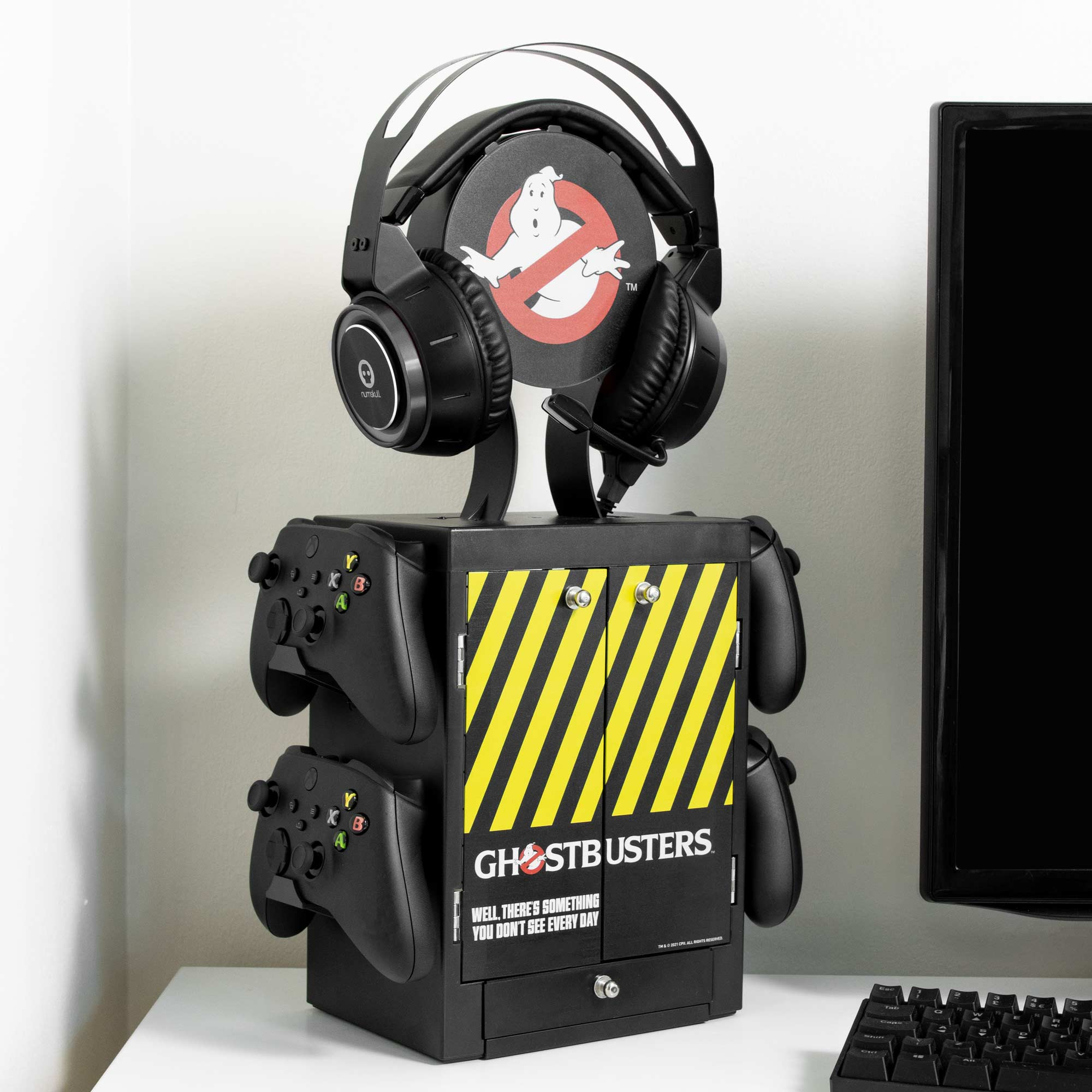 Official Ghostbusters Gaming Locker