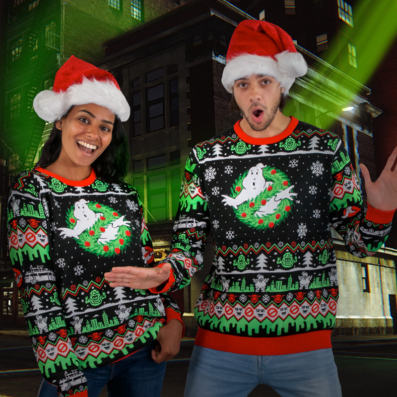 Ghostbusters Christmas Jumper / Ugly Sweater