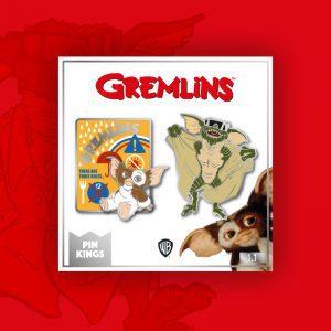 Pin Kings Gremlins Enamel Pin Badge Set 1.1