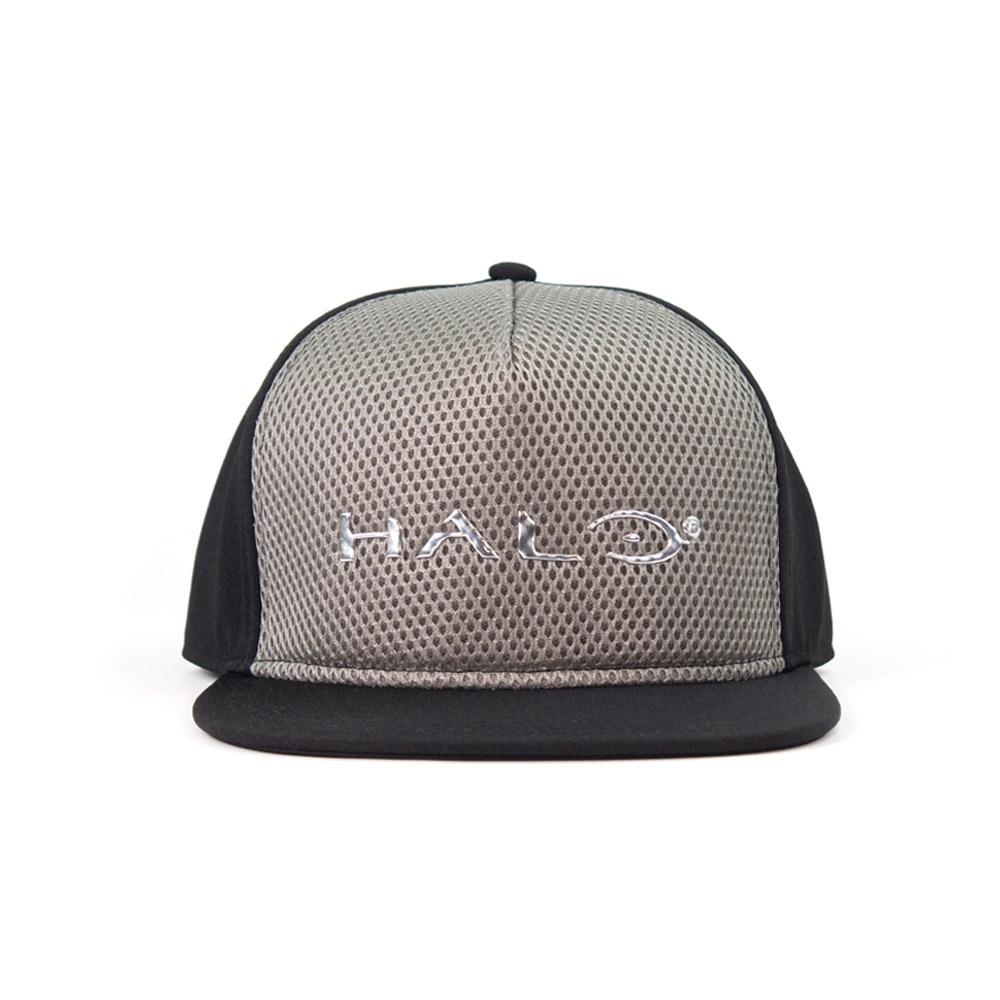Official Halo Liquid Chrome Snapback