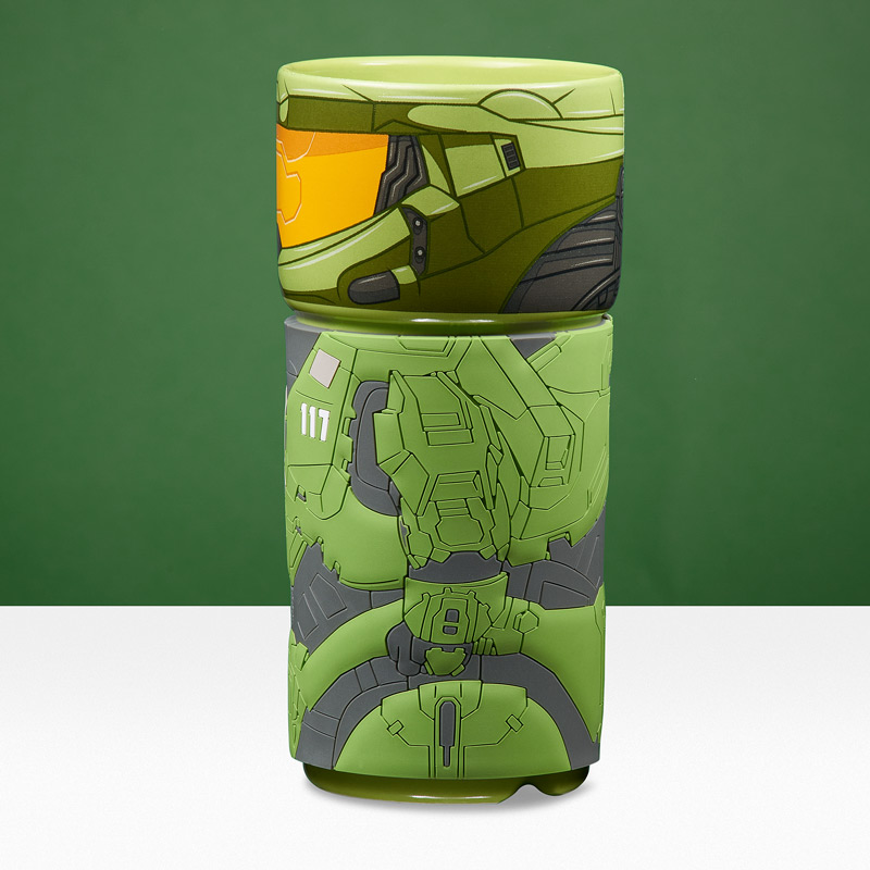 Official Halo Master Chief CosCup