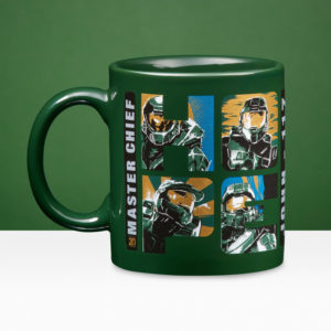 Official Halo 20th Anniversary Ceramic Mug