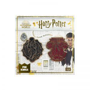 Pin Kings Harry Potter Enamel Pin Badge Set 1.3 – Dark Mark & Dobby