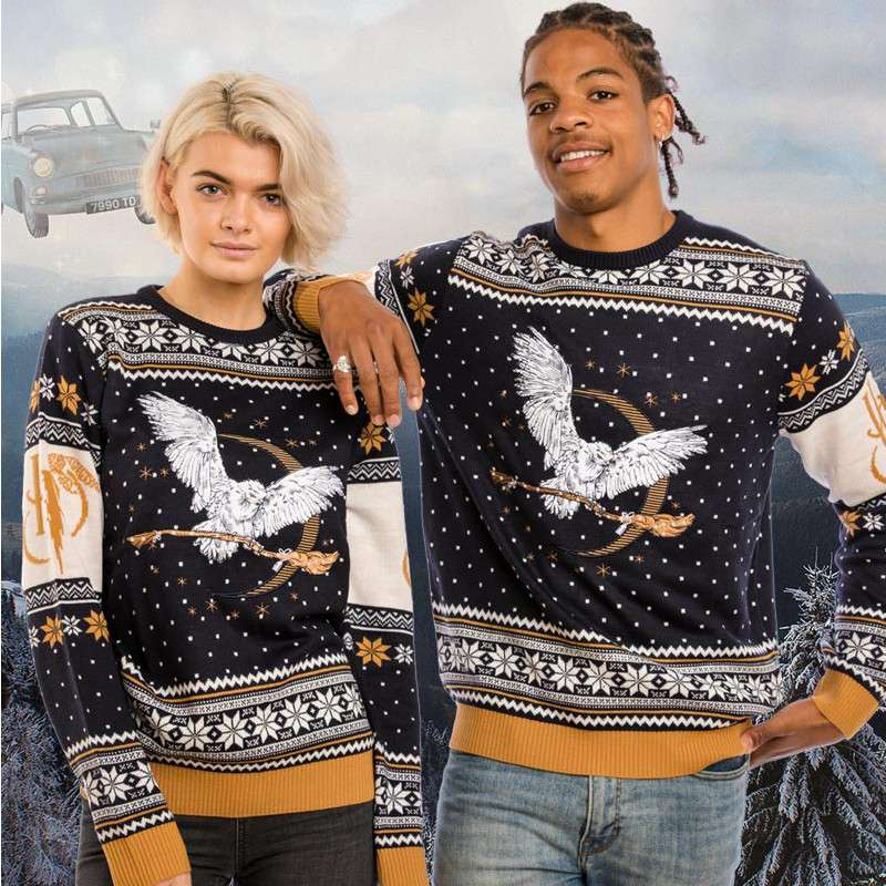 Harry Potter Hedwig Christmas Jumper / Ugly Sweater