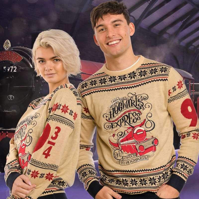 Harry Potter Hogwarts Express Christmas Jumper / Ugly Sweater