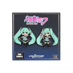 Pin Kings Hatsune Miku Enamel Pin Badge Set 1.2