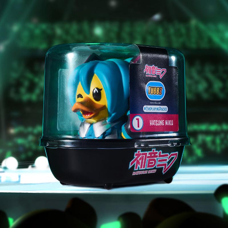 Hatsune Miku TUBBZ Cosplaying Duck Collectible