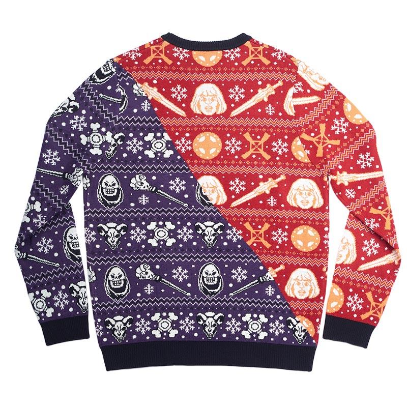 Official He-Man Vs. Skeletor Christmas Jumper / Ugly Sweater