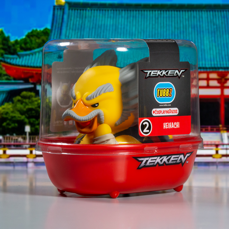 Tekken Heihachi TUBBZ Cosplaying Duck Collectible