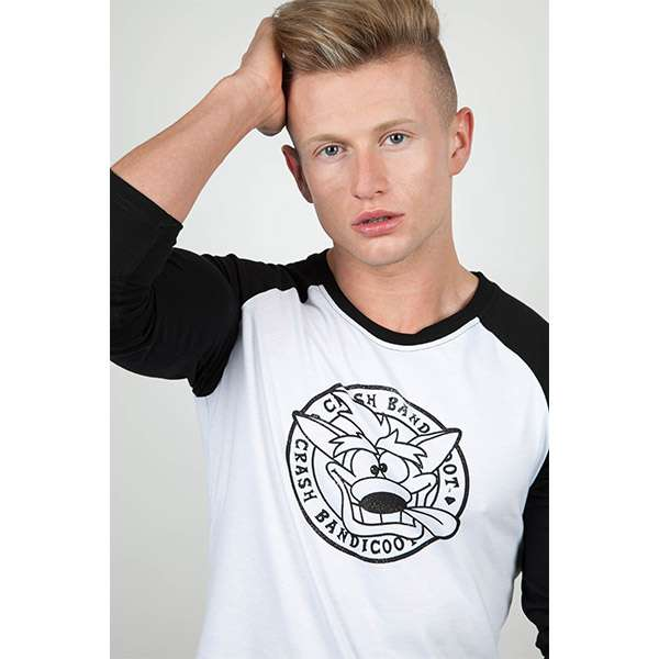Crash Bandicoot Raglan T-shirt