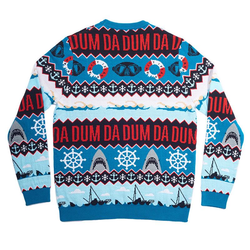 Official Jaws 'Da Dum' Christmas Jumper / Ugly Sweater