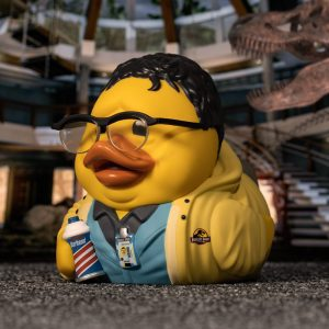 Jurassic Park Dennis Nedry TUBBZ Cosplaying Duck Collectible