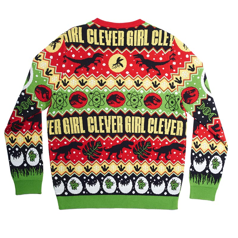 Official Jurassic Park Christmas Jumper / Ugly Sweater