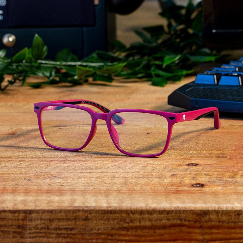 Numskull eSports Kids Pink Blue Light Blocking Gaming Glasses