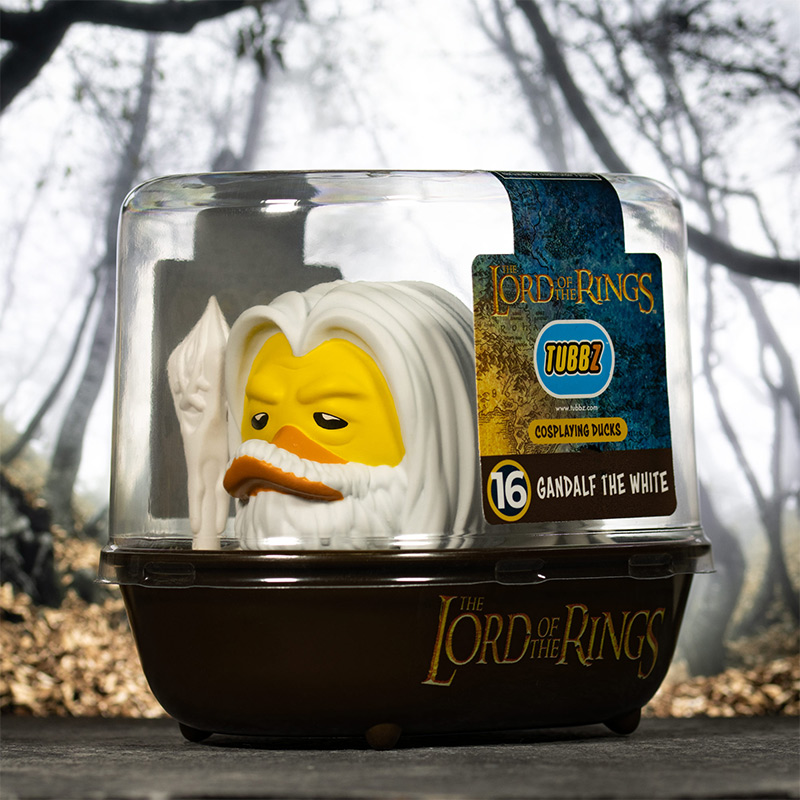 Lord of the Rings Gandalf The White TUBBZ Cosplaying Duck Collectible