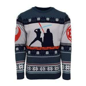 Star Wars Luke vs Darth Christmas Jumper / Ugly Sweater