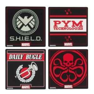 Official Marvel Coaster Set (4 Pack)