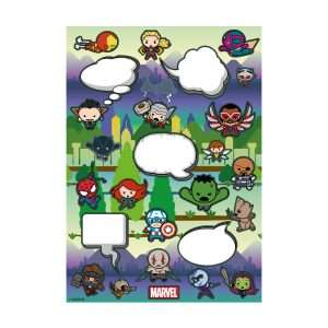 Marvel Kawaii Fridge Magnet Set