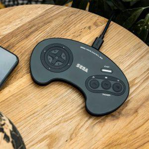 Official SEGA Mega Drive Hand Controller Wireless Charging Mat
