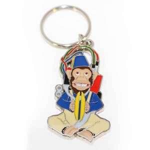 Call of Duty Zombies Monkey Bomb Keyring / Keychain