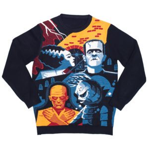 Official Monsters Group Jumper / Ugly Sweater
