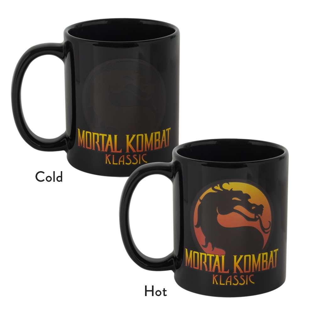 Mortal Kombat Heat Changing Mug