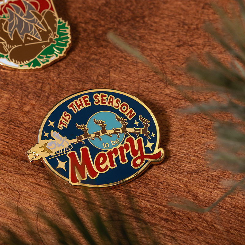 Pin Kings National Lampoon's Christmas Vacation Enamel Pin Badge Set 1.1