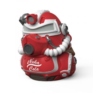 Fallout Nuka Cola T-51 TUBBZ Cosplaying Duck Collectible