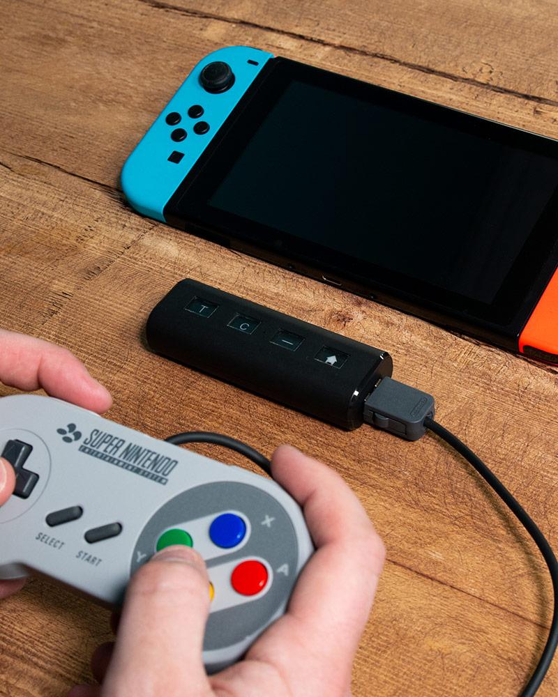 Numskull Nintendo Switch Wireless Retro Controller Converter (SNES and NES Mini, Wii and Gamecube)