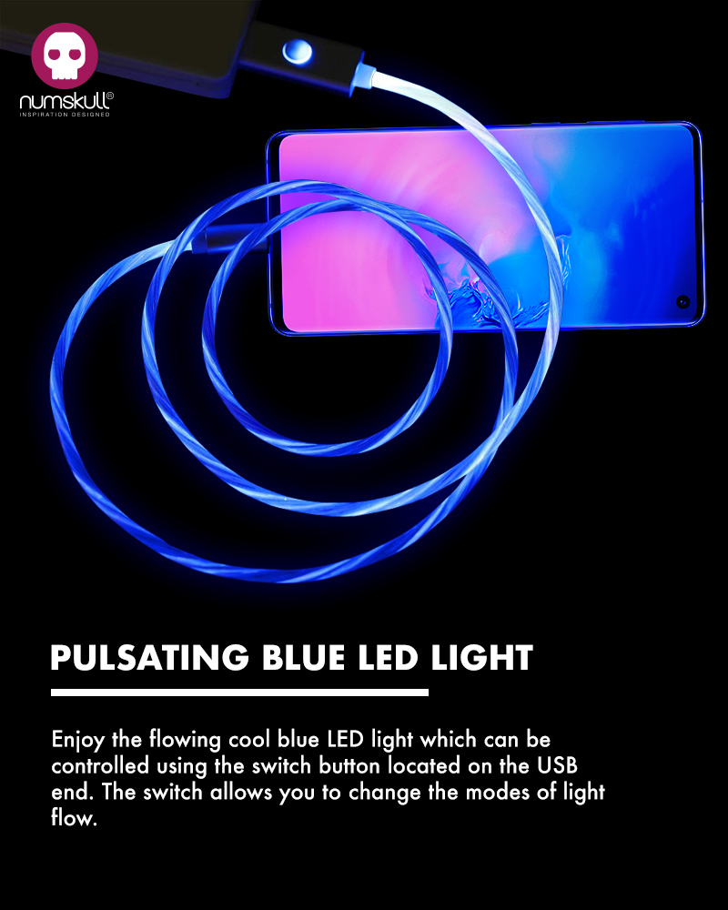 Numskull LED Flow Micro USB Cable