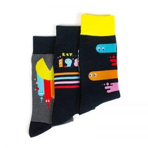 PAC-MAN 40th Anniversary Socks Pack