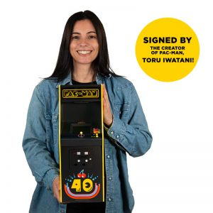 Pac-Man 40th Anniversary Quarter Arcade (Exclusive Signed Edition)