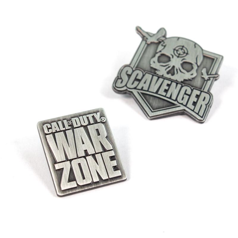 Pin Kings Call of Duty Warzone Enamel Pin Badge Set 2.1