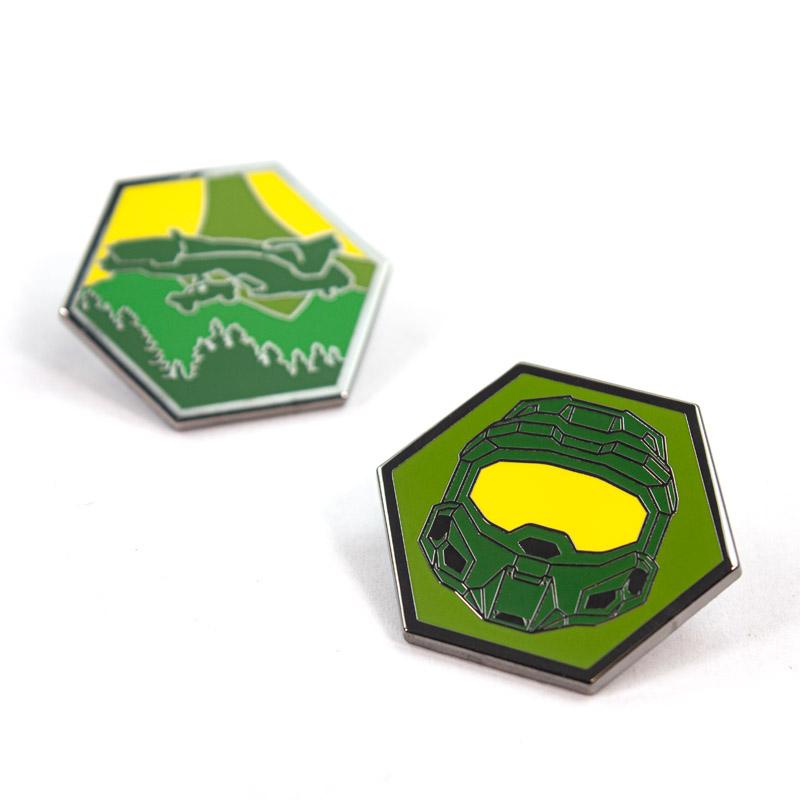 Pin Kings Halo Enamel Pin Badge Set 1.1