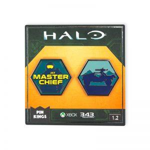 Pin Kings Halo Enamel Pin Badge Set 1.2