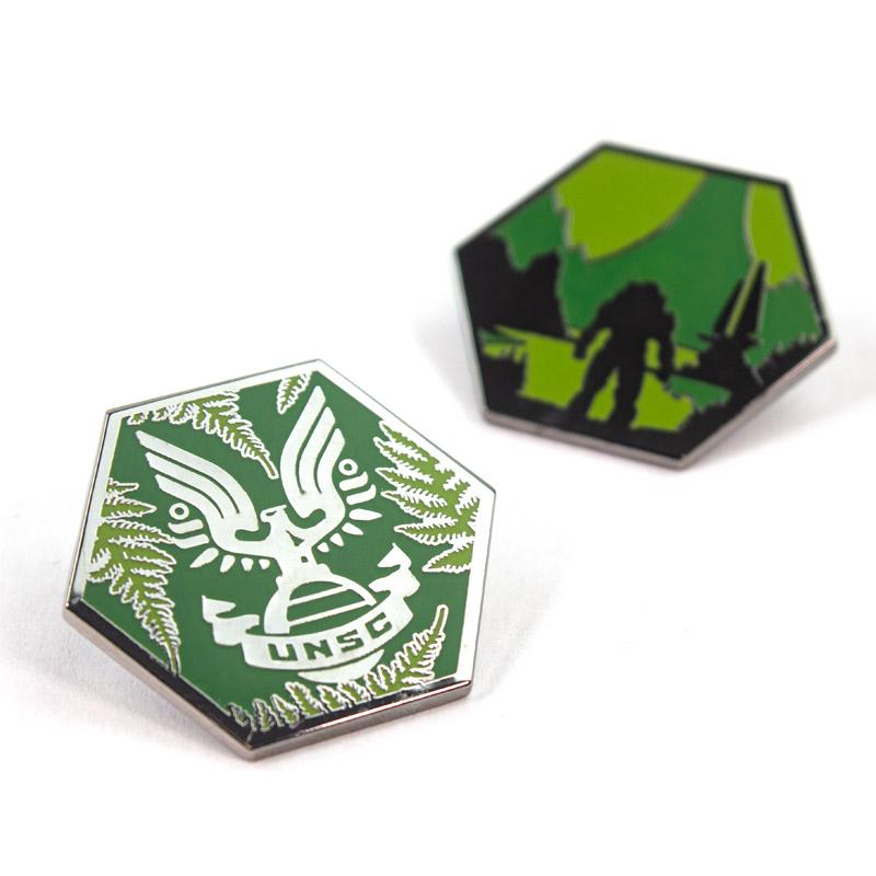 Pin Kings Halo Enamel Pin Badge Set 1.3
